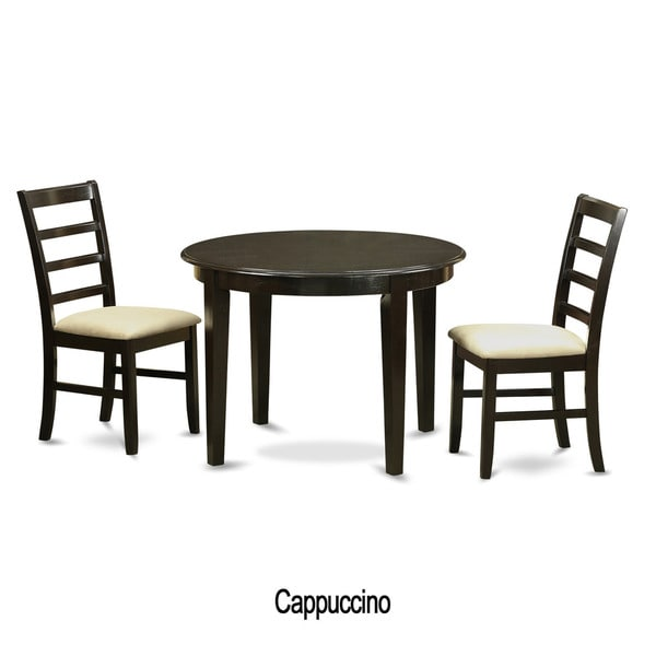 black kitchen table plus 2 dinette chairs 3 piece dining set