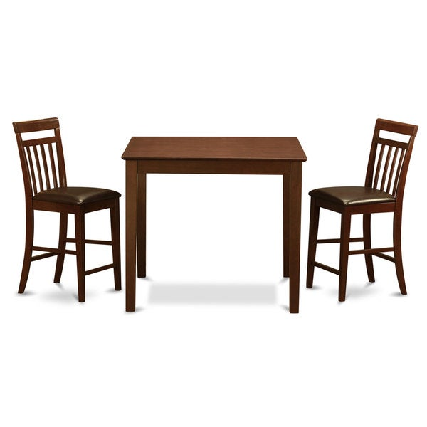 3-piece Gathering Square Pub Table and 2 Stools