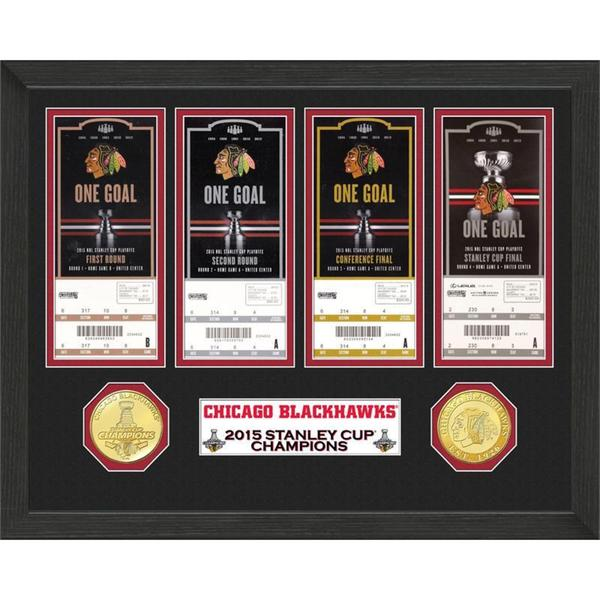 Chicago Blackhawks 2015 Stanley Cup Champions Ticket Collection 15688499