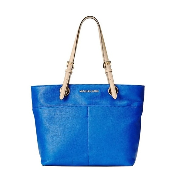 MICHAEL Michael Kors Bedford Top Zip Pocket Tote - Electric Blue