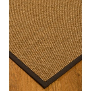 Hand-crafted Fudge Melrose Sisal Rug (4' x 6')