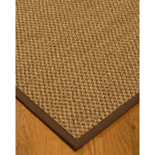 Hand-crafted Fudge Ventura Sisal Rug (5' x 8')