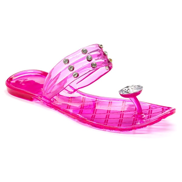 Women's Studded Jelly Sandal