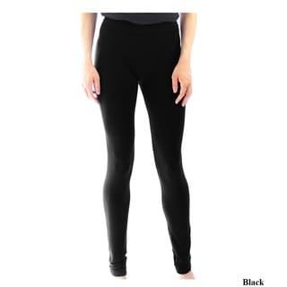 Le Nom Women's Basic Solid Legging