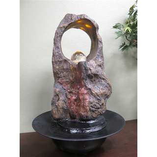 Welland 17-inch Stone Tabletop Fountain