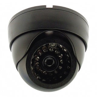 Dummy Infrared Dome Security Camera with Light