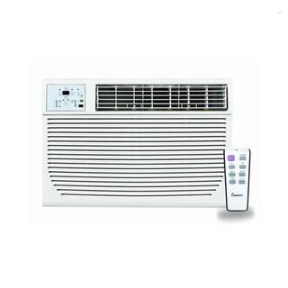 Impecca 10,000 BTU 115-Volt Built-In Air Conditioner (White)
