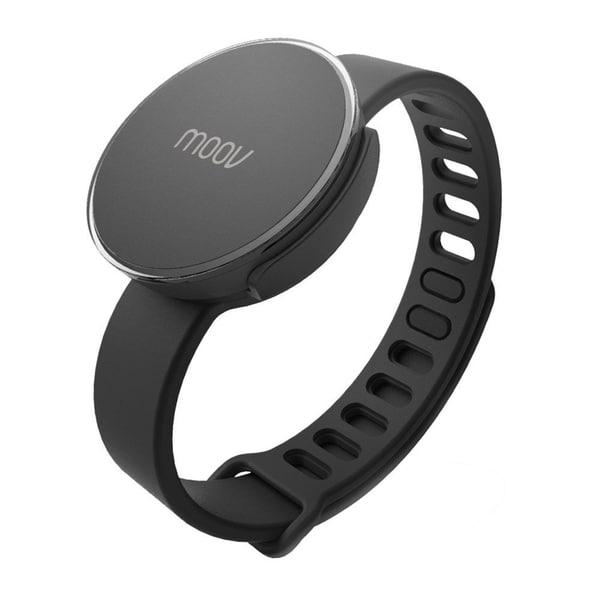 Moov Smart Multi-Sport Fitness Coach and Tracker Band (Black)
