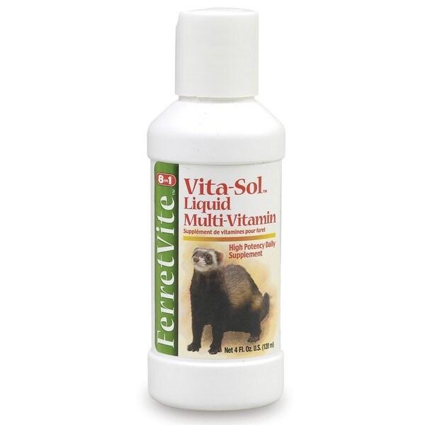 8-in-1 FerretVite Vita-Sol Liquid Multi-Vitamin