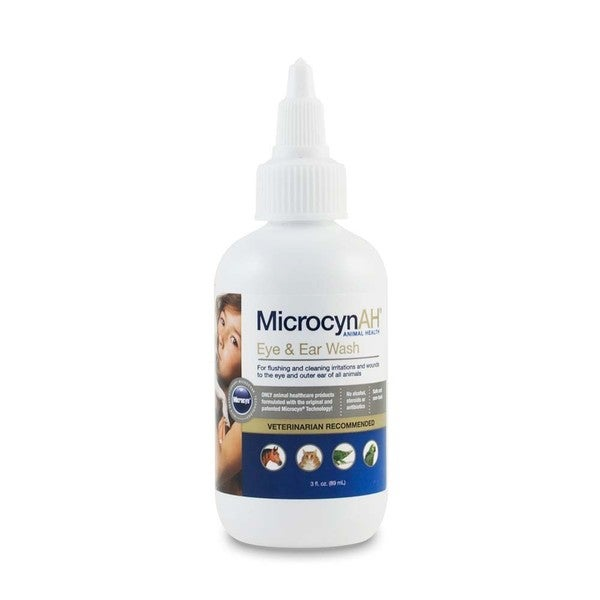 MicrocynAH Eye and Ear Wash 3-ounce