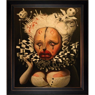 Adrian Borda 'Life is Just a Funny Game' Framed Fine Art Print