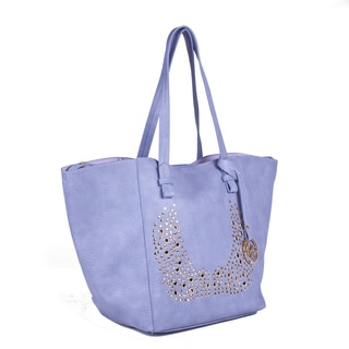 Michael Michelle 'Reba' Vegan Leather 2-in-1 Tote Bag