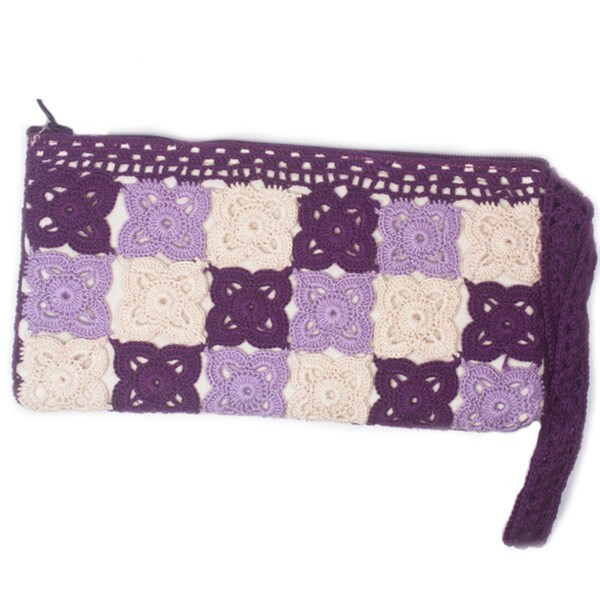 Tulip Purple Wristlet (India)