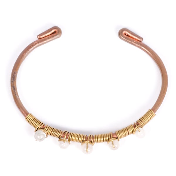 Pearly Bead Bangle (India)