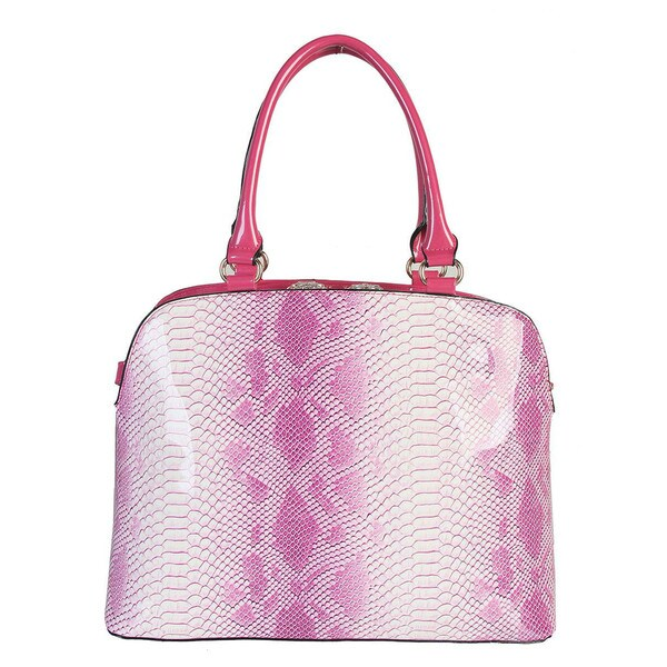 Rimen & Co. Snake Embossed Handbag