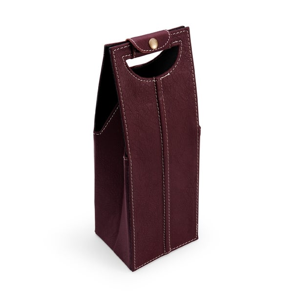 Elements Maroon Single Wine Bag