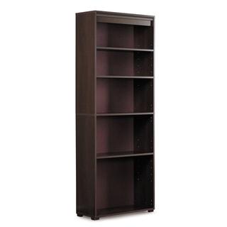 5-Shelf Bookcase, Java Mocha Finish