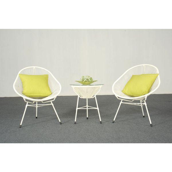 decorative modern white indoor outdoor bistro dining set 17410661