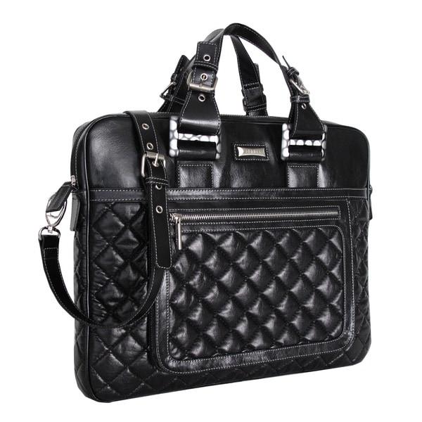 Joanel Black Briefcase