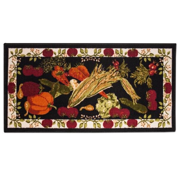 Harvest Design Woven Non-slip Kitchen Rug