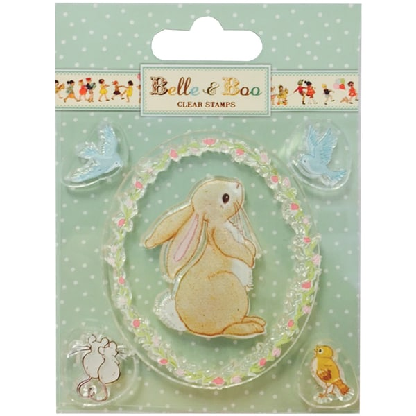 Belle & Boo Clear Stamps Boo