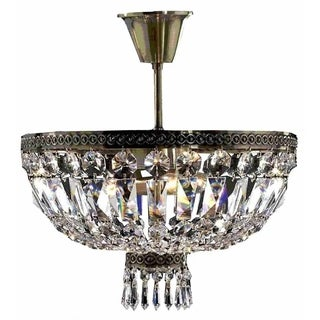 Metropolitan D16-inch x H14-inch 4-light Antique Bronze Finish Ceiling Light