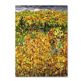 Mandy Budan 'Towards Autumn' Gallery Wrapped Canvas Art
