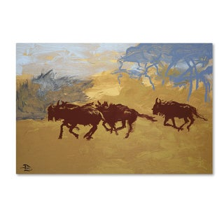 Lowell S.V. Devin 'Plains Escape' Gallery Wrapped Canvas Art