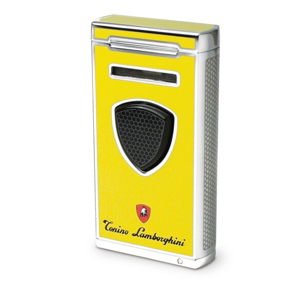 Tonino Lamborghini Pergusa Yellow Torch Flame Lighter (Ships Degassed)