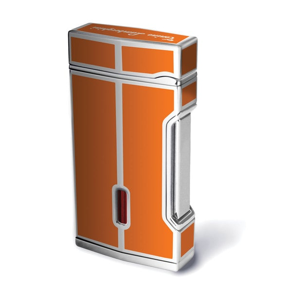Tonino Lamborghini Mito Orange Flint Candle Flame Cigar Lighter (Ships Degassed)