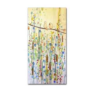 Sylvie Demers 'Toi Et Moi' Gallery Wrapped Canvas Art
