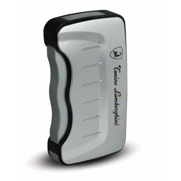 Tonino Lamborghini Eridanus Lighter - Silver with Black Rim (Ships Degassed)