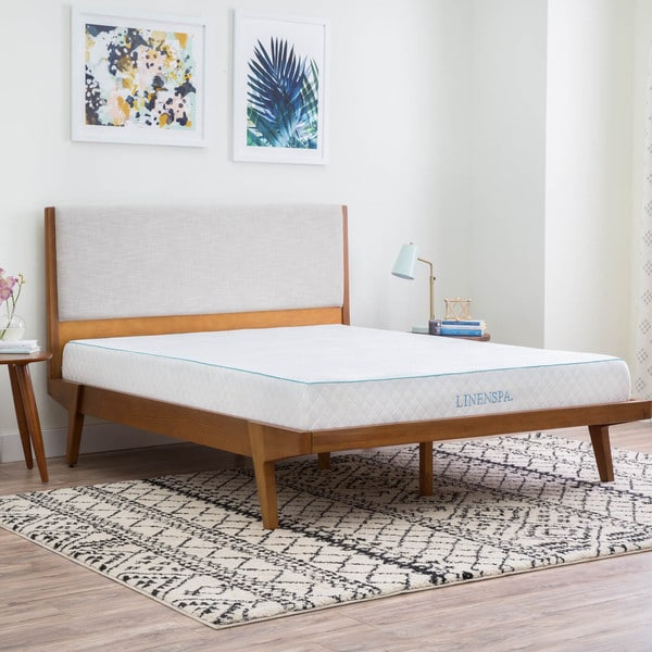 LINENSPA 8-inch Twin-size Gel Memory Foam Mattress