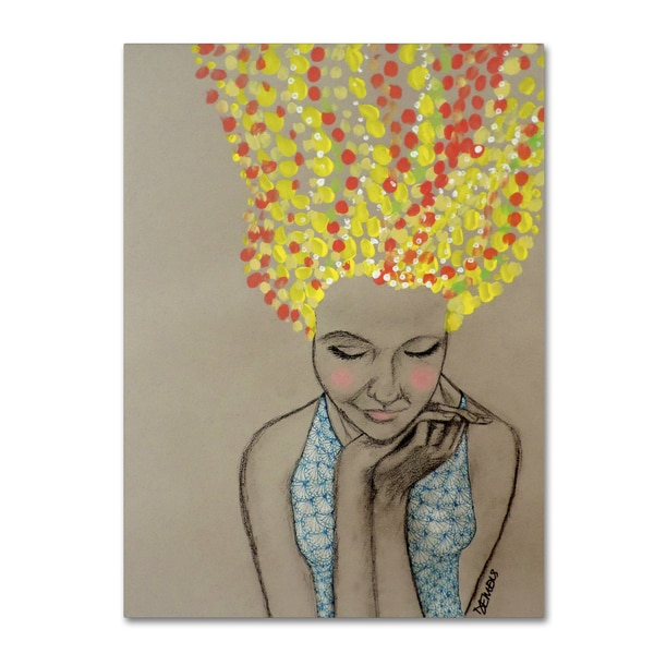 Sylvie Demers 'Miss Sunshine' Gallery Wrapped Canvas Art