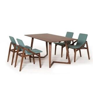Modrest Jett Contemporary Walnut Dining Table
