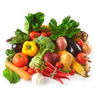 Farm Fresh Organic Fruit, Vegetable and Dairy Bundle