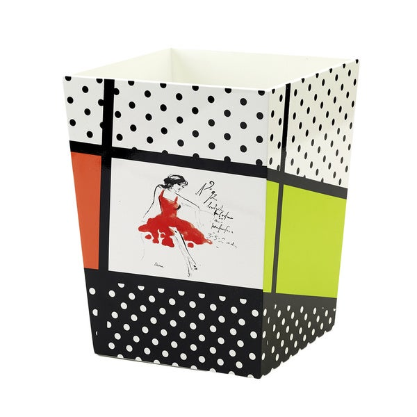 Avanti Couture Girl Wastebasket