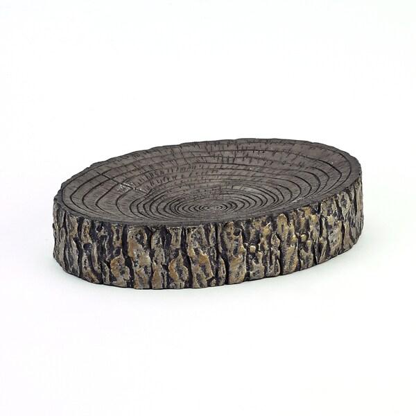 Avanti Tree Bark Soap Dish