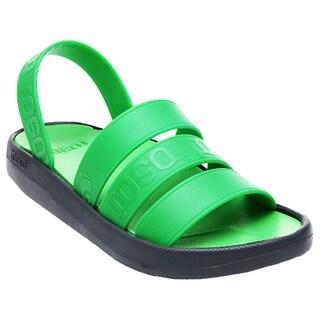 TOEOT Men's TA Sandal, Customizable Sandals, Lime Grey