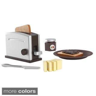 KidKraft Wooden Toaster Set