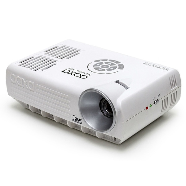 AAXA M4 800 Lumen WXGA Mobile LED Projector with Digital TV Tuner and SD Card Media Playback