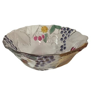 Wine Garden 9.25-inch 48-ounce Centerpiece Bowl