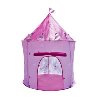 Pink Princess Fairy House Castle Play Tent