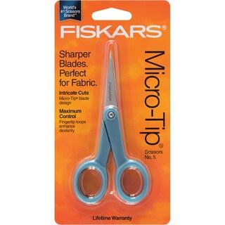 Micro Tip Fashion Scissors 5in