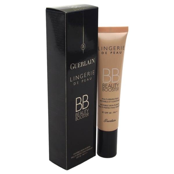 Guerlain Lingerie De Peau BB Beauty Booster Multi-Perfecting 3 Natural Makeup SPF 30