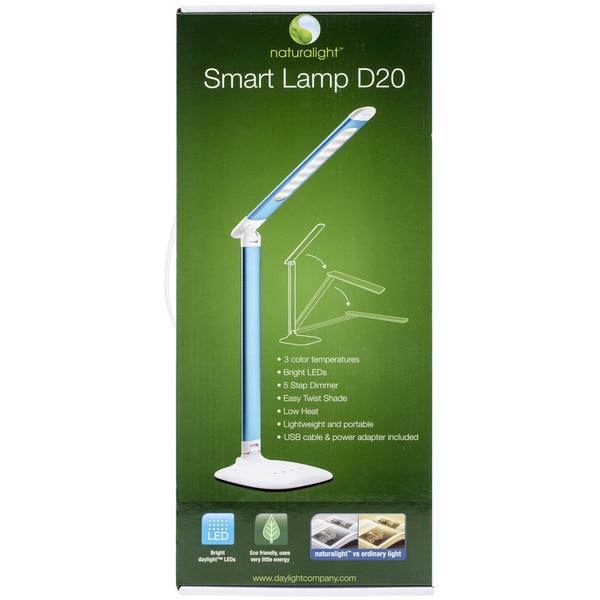 Smart Lamp D20 Desk Lamp Metallic Silver