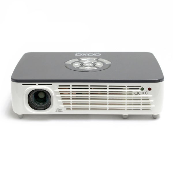 AAXA P450 WXGA 450 Lumen 720p Pico Projector with Built-in Media Player