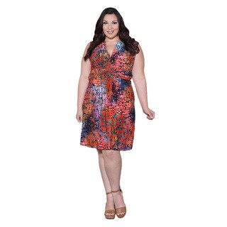 Sealed with a Kiss Women's Plus Size 'Marla' Tank Dress