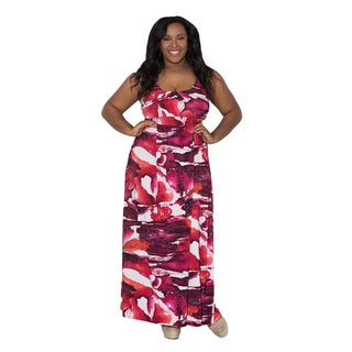 Sealed with a Kiss Women's Plus Size 'Yvonne' Maxi Dress