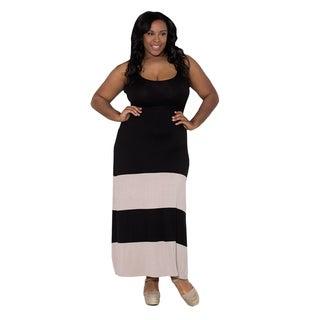 Sealed with a Kiss Women's Plus Size 'Bridget' Maxi Dress